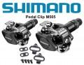 Pedal Shimano M505 com Taquinhos Par